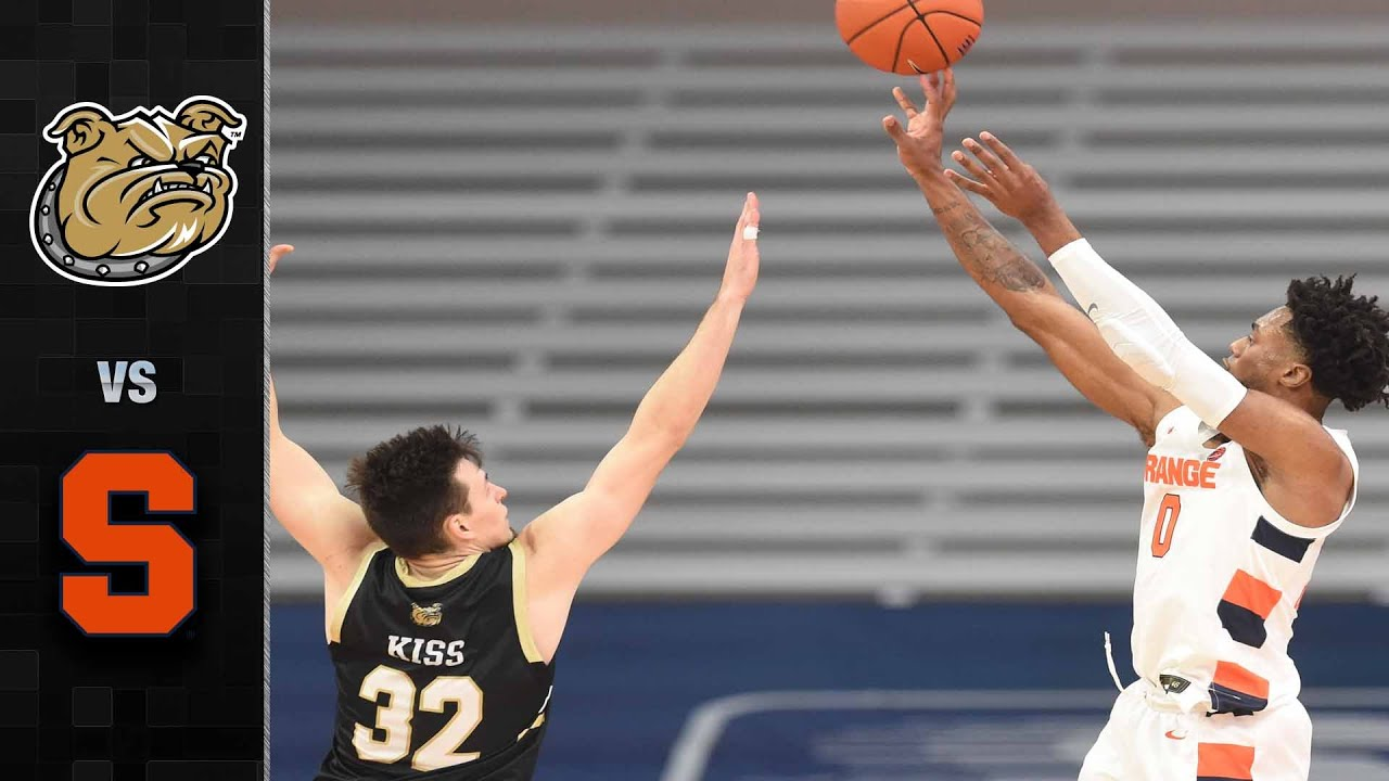 Bryant Vs Syracuse Basketball Highlights 2020 21 Youtube