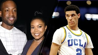 Dwyane Wade's Wife Gabrielle Union Comments on Lonzo Ball's D**K