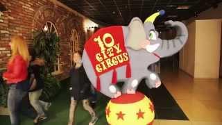 Слон на шаре от Bukva23.ru