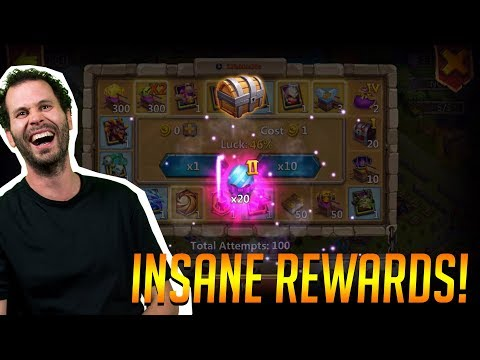 Opening New Eggs Tons Of Rewards $100 Pack Castle Clash