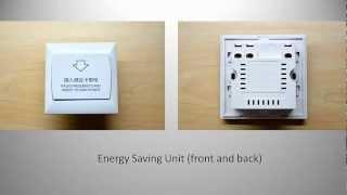 RFID Hotel Key Card Energy Saving Unit (Switch)