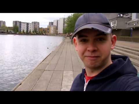 Me in Binsey Walk Thamesmead - A Clockwork Orange location.