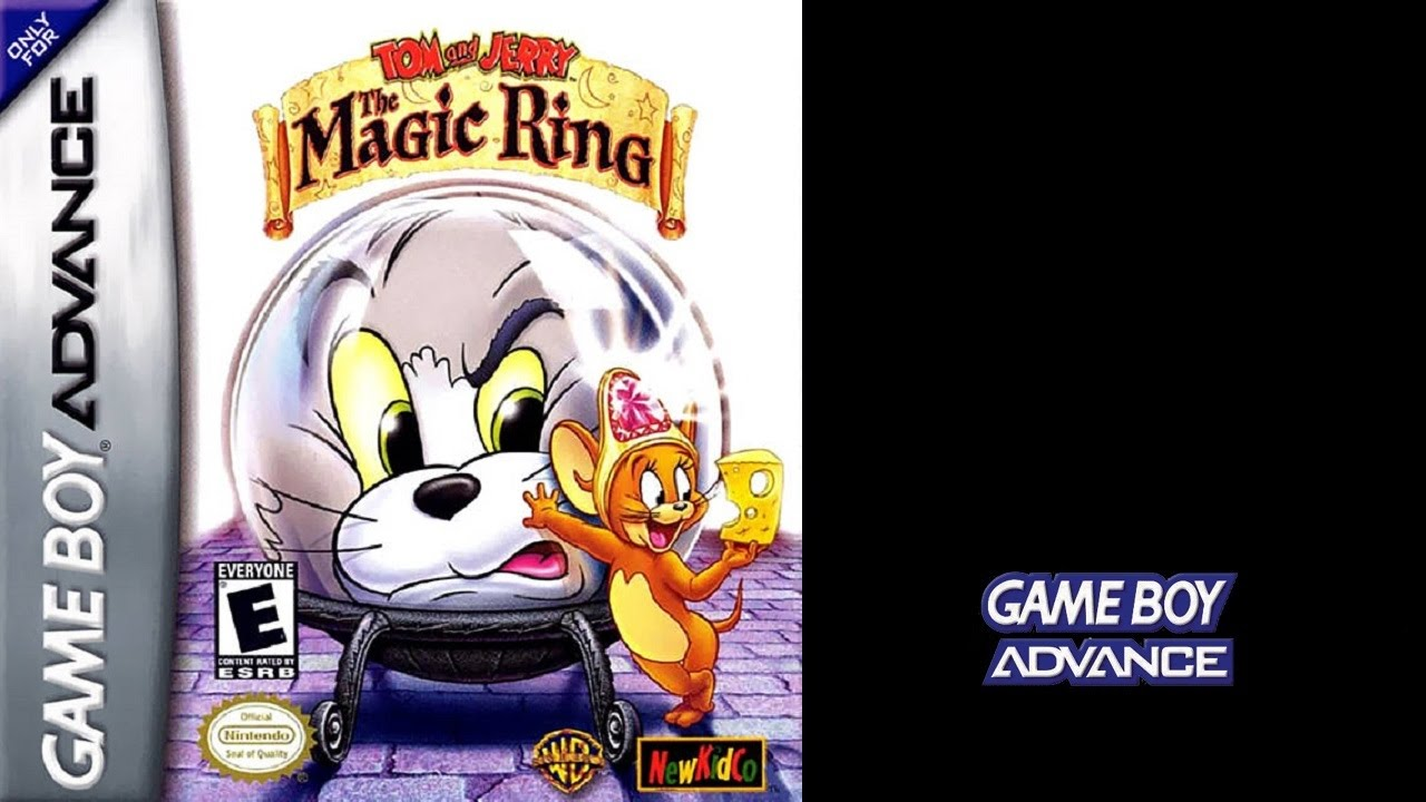 Tom and jerry the magic ring game boy advance