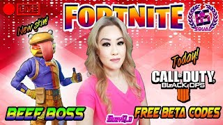 'NEW SKIN BEEF BOSS' PS4 DUO GRIND! Fortnite: Bataille Royale