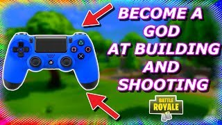 NEW Controller Update! How to aim with L1 and shoot with R1! (Fortnite Battle Royale)