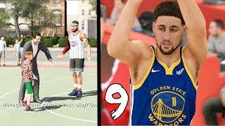 1ST GAME ON HALL OF FAME vs GSW!! NIKE KIDS BASKETBALL CAMP! NBA 2k20 MyCAREER Ep. 9