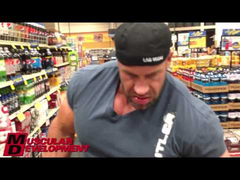 JAY CUTLER - GROCERY SHOPPING 11 DAYS TO MR OLYMPIA 2013