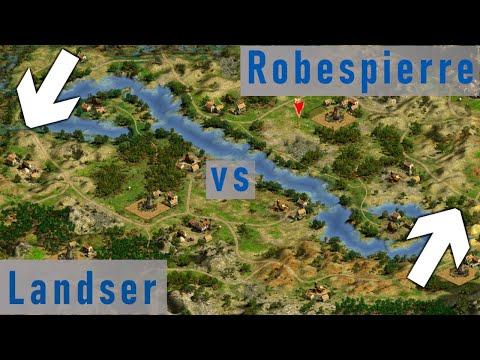 War on TWO Fronts I Cossacks 2 Multiplayer Game I Landser vs Robespierre  