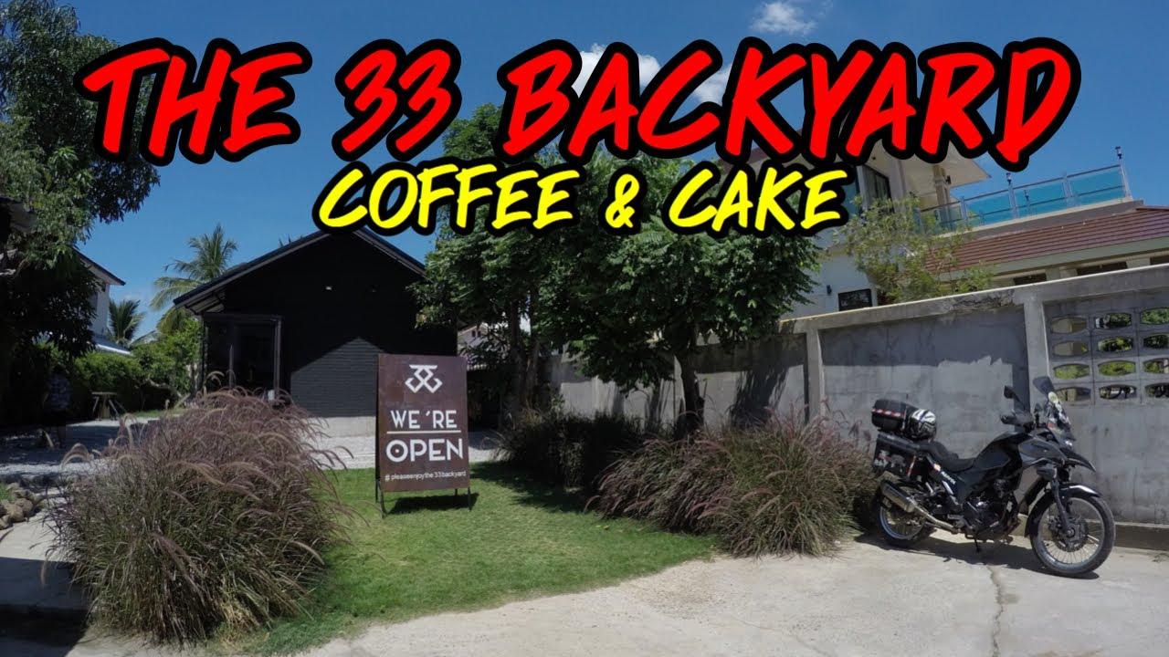 The 33 Backyard X Mukdahan ร้านกาแฟสุดชิคสายดาร์ค ห้ามพลาด [EP.105]