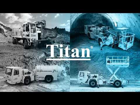Titan Makina Corporate Video - Underground Mining Utility Vehicles