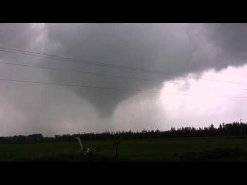 8/24/14 Benton County, MN Tornado (HD)