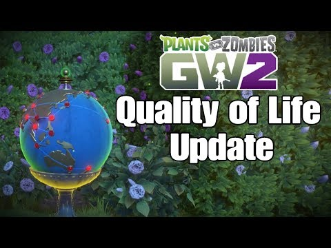 Quality of Life Update | Plants vs Zombies Garden Warfare 2