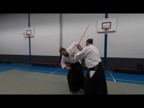 Dat waren nog eens tijden. De aikido lessen zijn eindelijk weer begonnen.