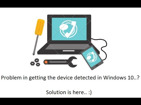Lenovo Zuk Z2 Plus / MTP Device not getting detected in Windows 10