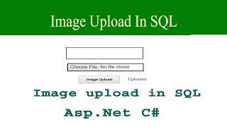 how to upload image in asp.net using c#