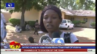 News@10: Yola NYSC Camp Holds Displaced Persons In Adamawa 02/11/14 Pt. 1