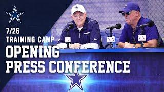 2019 Dallas Cowboys Training Camp Press Conference   Dallas Cowboys 2019