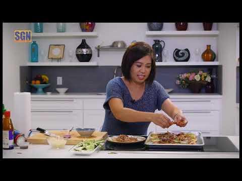 Nấu Ăn với Cathy Hà: Vịt Pizza Vịt Bắc Kinh