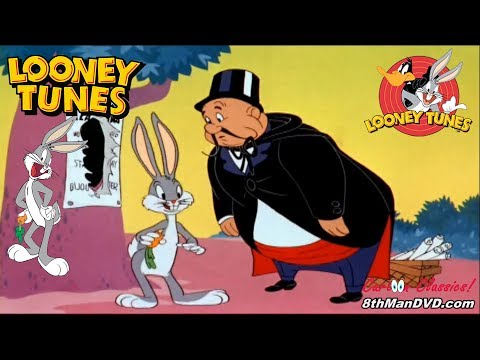 LOONEY TUNES (Looney Toons): BUGS BUNNY - Case Of The Missing Hare (1942) (Remastered) (HD 1080p)
