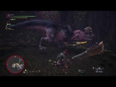 Monster Hunter World Beta - LET'S GOOOOO hunt some monsters :D