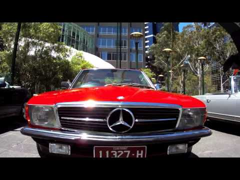 Mercedes-Benz Car Club of Australia (Victoria) - Southbank Display