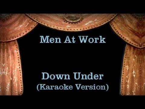 Men At Work - Down Under Lyrics (Karaoke Version)
