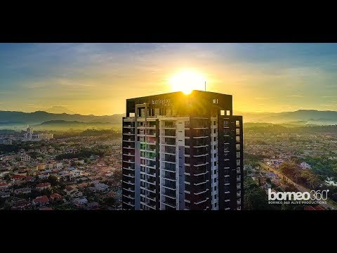 Harrington Suites - 1st Residential Gold GBI Building in Sabah