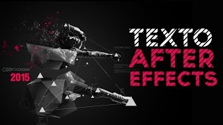Efecto Venetian Blinds en Textos After Effects Tutorial