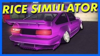 RICE SIMULATOR 2017!! - Drift King: Survival Gameplay