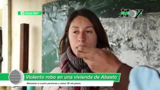 Violento robo en una vivienda de Abasto: maniatan a cuatro personas y roban 30 mil pesos