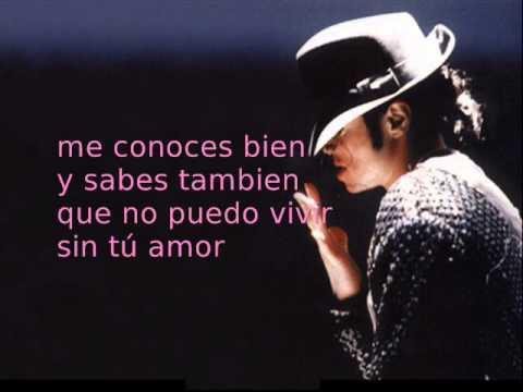 Todo mi amor eres tu - Michael Jackson (with lyrics)