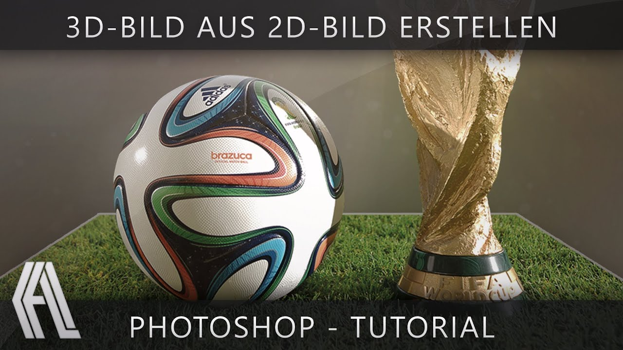 3d bild aus 2d bild erstellen photoshop tutorial german youtube. Black Bedroom Furniture Sets. Home Design Ideas