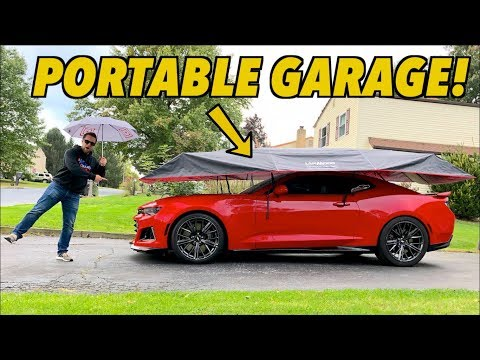 I Got An UMBRELLA For My CAR!? (Lanmodo Review)