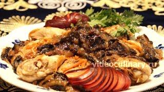 Курица с соусом из чернослива - Рецепт Бабушки Эммы