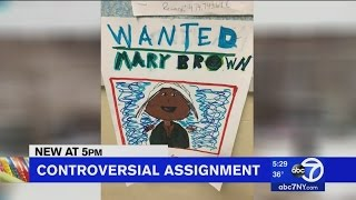 Assignment Controversy | School Ask Students to Make Slave Posters Lev Project
