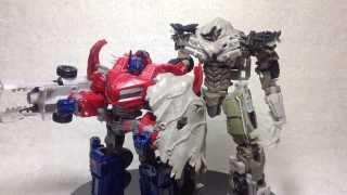 Video Review of the Transformers DOTM Megatron видео обзор на Русском