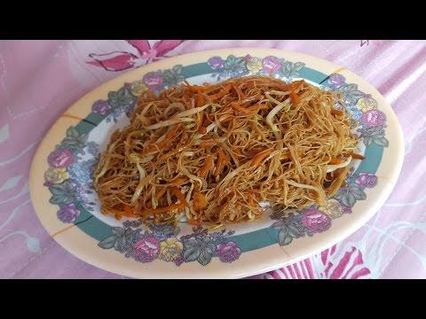 Economic Fried Bee Hoon/Rice Vermicelli (经济炒米粉)