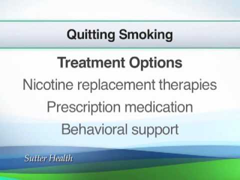 Advice to Quit Smoking  | Ask the Doctor