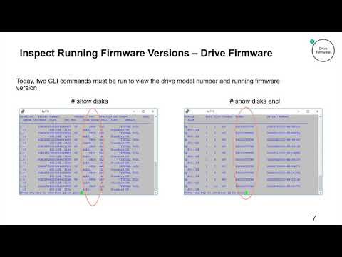 Updating HPE MSA Storage Drive Firmware Demo