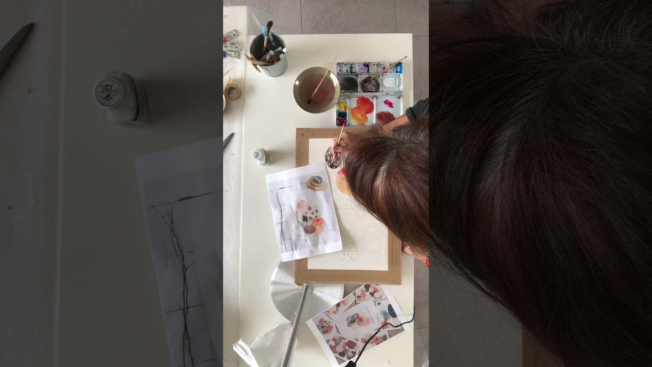 Initiation à L'aquarelle  étape deux