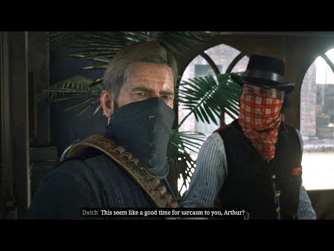 Red Dead Redemption 2 - Failed Bank Robbery Mission (RDR2)