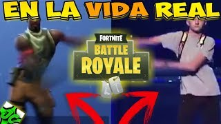 FORTNITE BATTLE ROYALE BAILES IN REAL LIFE! IN REAL LIFE FORTNITE