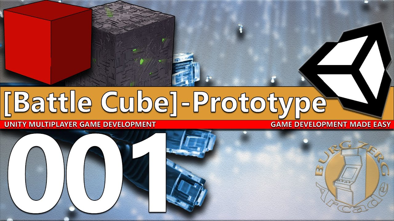 uNet - Multiplayer Network Game Tutorial: Bouncing Cubes 001