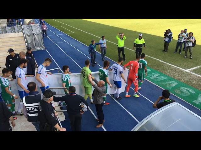 Bal Ligi Baraj Maçı | Yeni Amasyaspor 0-1 Merzifonspor (1.Yarı)