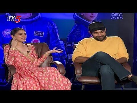Varun Tej And Aditi Rao Exclusive Interview On Antariksham Movie | TV5 News