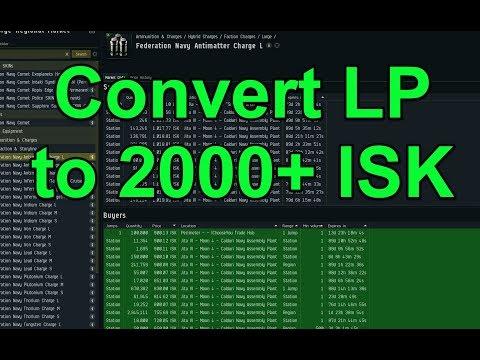 2000+ ISK per LP Conversions - EVE Online Live Presented in 4k