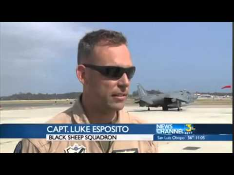 Black Sheep Squadron visits Santa Barbara