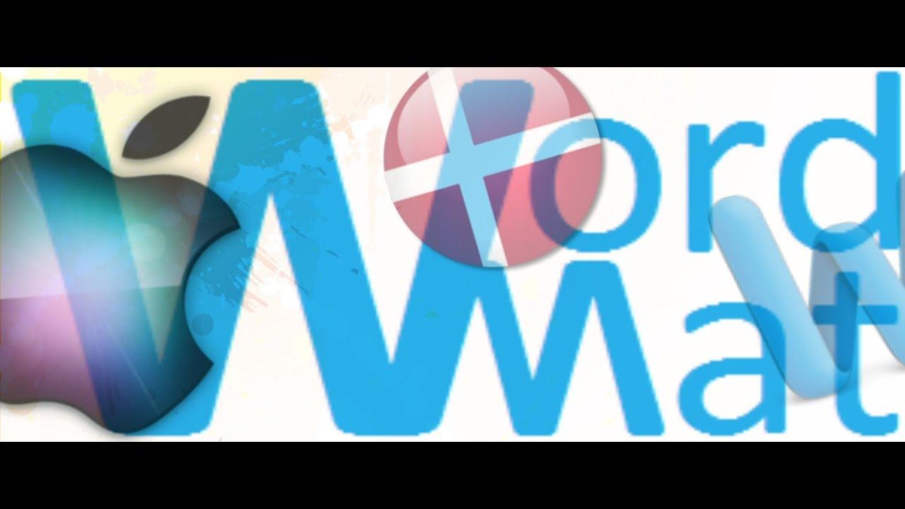 Installation af Wordmat til mac-brugere, enkel guide [Dansk] 1080p HD - YouTube