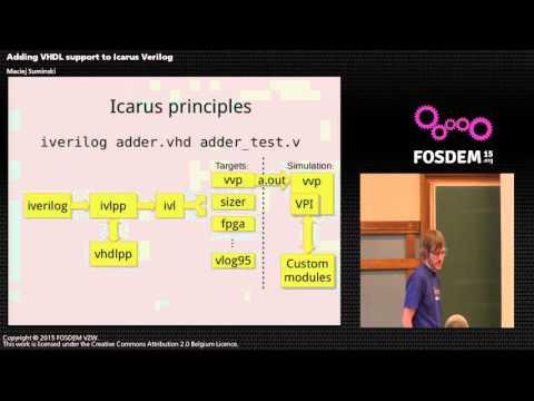 FOSDEM 2015 - Developer Room - Electronic Design Automation - Carus Vhdl