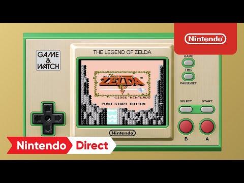 Game & Watch: The Legend of Zelda – Announcement Trailer